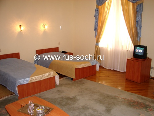 Single rooms of supreme category for 2 persons («Studio»)